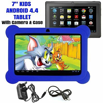 7 INCH KIDS ANDROID TABLET PC QUAD CORE 4.4 WIFI Camera for CHILD CHILDREN