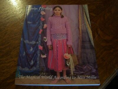 Louisa Harding Childs knitting pattern book The Magical World of Miss Millie
