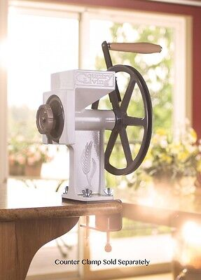 New Country Living Grain Mill with Large Corn & Bean Auger - Lifetime Warranty