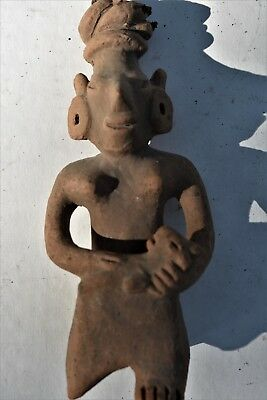 "Orig $399. Pre Columbian Figure 6"" Provenance"
