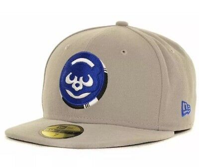 63701ed2994 NEW - CHICAGO CUBS Cooperstown Collection 3D NEW ERA 59Fifty Fitted Hat  Size 7