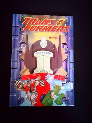 Transformers Generation 2 Annual Vintage T.V/Film Hardback (1994) Very Rare