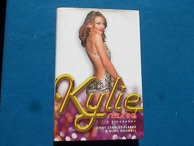Kylie Minogue - Kylie Naked - Biography - Excellent Condition