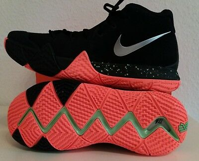 b375dc8dbf1a NIKE KYRIE 4  Halloween Theme  Black Metallic Silver Orange Eur.42 ...