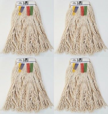 KENTUCKY Heavy Duty Mop Heads Cotton Thick Twine 16oz 450gm CHSA Approved