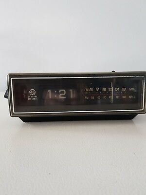 GE Model 7-4305A Flip Clock Radio parts