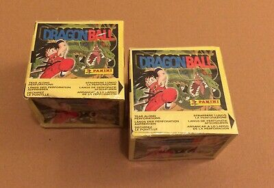 1999 PANINI Dragonball Full Box 50 Packets Dragon Ball