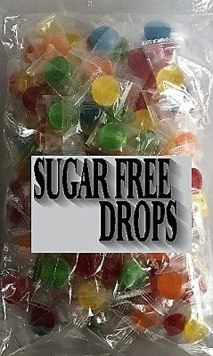 Sugar Free Fruit Drops 500g Johnsons Bulk Lollies Candy Buffet Party Favors