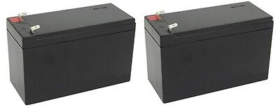2 Pack- 12V 9Ah BATTERY APC BACK-UPS XS1500 RBC109 PS-1290 Replacement Batteries