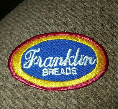 1950's Franklin Breads Delivery Man Patch NOS FREE SHIPPING