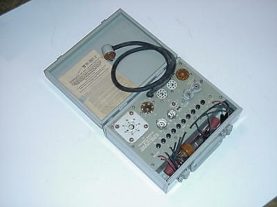 MX-949A/U socket adapter kit for use with military tube tester I177B, excellent