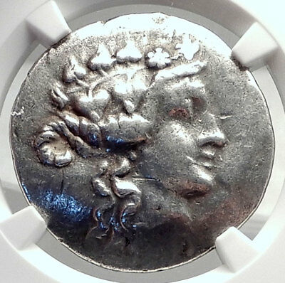 THASOS Thrace 148BC Authentic Ancient Silver Greek Tetradrachm Coin NGC i72631
