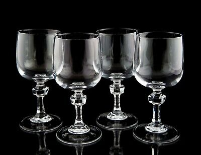 Cristal D'Arques Paris Royal Wine Glasses, Set of (4), France