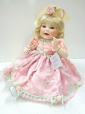 "Marie Osmond's ""Queen Elizabeth"" Porcelain Doll 2002 Collection"