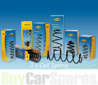 Fit with HONDA HR-V Rear Suplex Coil Spring in Pair 11081