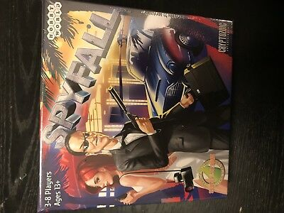 Spyfall Board Game Cryptozoic Games New Factory Sealed Card Game