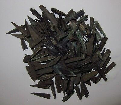 Lot Of 171 Ancient Bronze Arrow Head