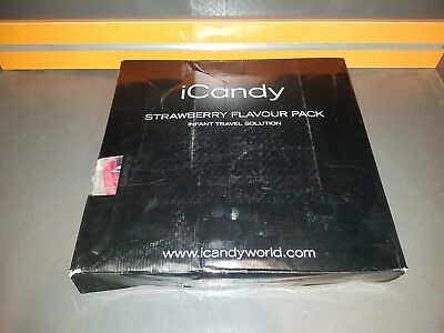 iCandy strawberry flavour pack pomegranate  pomegran suit chilled seat unit.