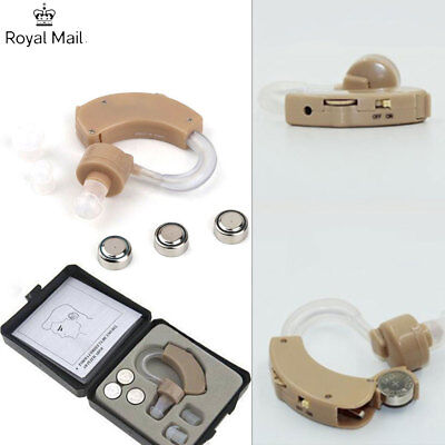 Digital Mini Hearing Aids Aid Behind-ear Sound Amplifier Adjustable Volume