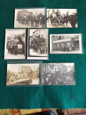 Rare lot carte photo ancien Neuilly Saint Front 02