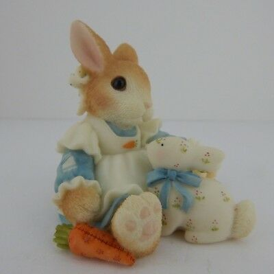 My Blushing Bunnies Share Your Blessings Figurine #470408 Easter Display! 101