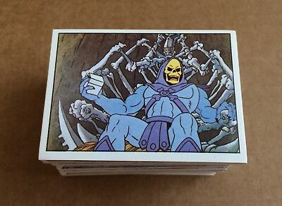 1983 PANINI Masters of  The Universe CHOOSE 5 Stickers from the list MOTU He-Man