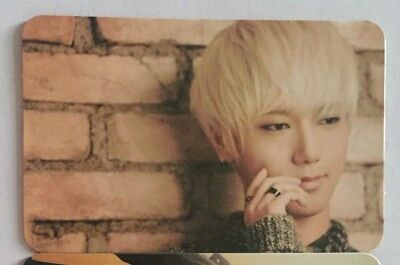 Super Junior - Yesung Promise You Photocard