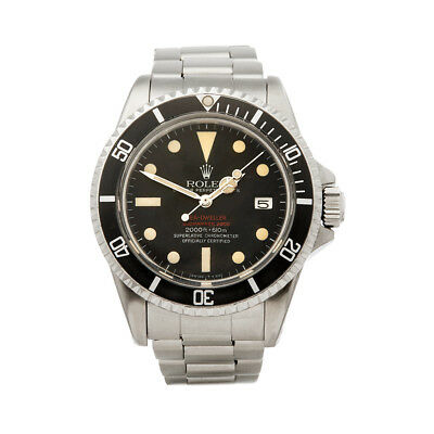 Rolex Sea-Dweller Double Red Mkiv Stainless Steel Watch 1665 W5882