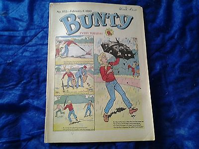 BUNTY comic No.1152-February 9th 1980