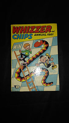 Whizzer And Chips Annual 1981 Vintage U.K Comic Hardback