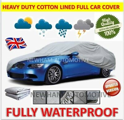 INDOOR OUTDOOR WATERPROOF CAR COVER COTTON LINED For MERCEDES C-CLASS C250 W204