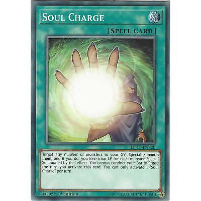 Yu-Gi-Oh Soul Charge - LEHD-ENB20 - Common Card - 1st Edition