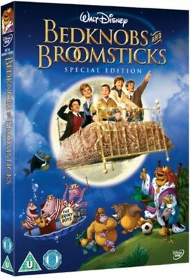 Bedknobs and Broomsticks (DVD, 1971) *NEW/SEALED* 8717418213411, FREE P&P