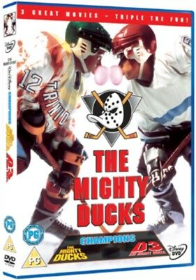 The Mighty Ducks Trilogy Box Set (DVD, 1996) *NEW/SEALED* FREE P&P
