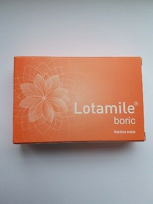 Lotamile boric-Vaginal ovules for natural vaginal pH & for infections-UK Stock