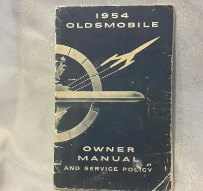 1954 Oldsmobile Owner Manual