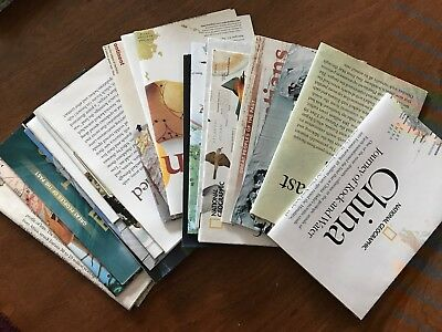 National Geographic Map Lot 2000s