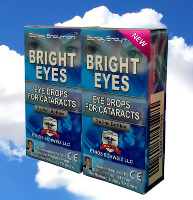 ~~Ethos Bright eyes NAC Eye drops for Cataracts 2 Boxes 20ml~~