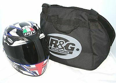 R&G Racing Deluxe Motorcycle / Motorbike Full Face Fleece Lined Crash Helmet Bag