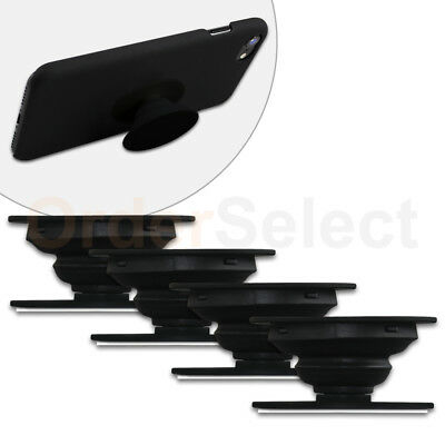4 Universal PULL OUT - UP Phone Stand Expand Grip Tablet Holder Oval Mount Stand