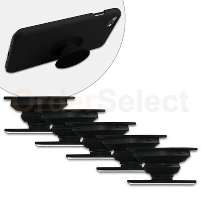 5 Universal PULL OUT - UP Phone Stand Expand Grip Tablet Holder Oval Mount Stand