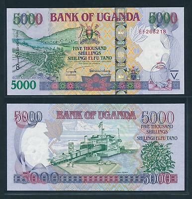 [74795] Uganda 2005 5000 Shillings Bank Note UNC P44b