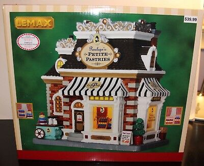 Lemax Lighted Building Christmas Village PENELOPE'S PETITE PASTRIES  2016 New
