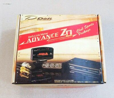 DF Advance ZD LED Digital Universal All in One Gauge Not Greddy HKS Apexi Auto 1