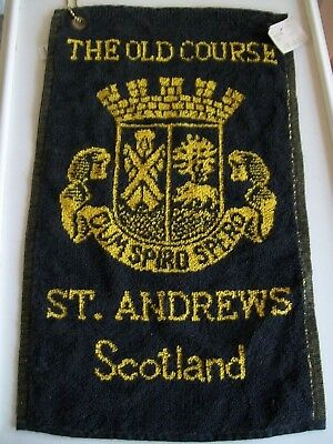 St Andrews Golf Towel The Old Course Scotland