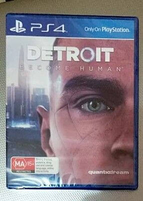 Detroit Become Human PS4 Brand new Au stock