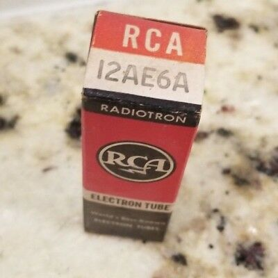 12AE6A - RCA Vacuum Tube  NOS New Old Stock! R2
