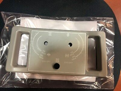 New Ge Amiv+ Collimator Face Plate Grey P/n 46-250207P49