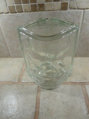 """WECK GLASS BLOCK CORNER 8"""" Made in Germany QUANTITY OF TWO ( 2 )"""