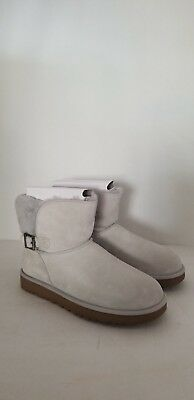 4f923d21947 UGG WOMEN'S CLASSIC Karel Grey Violet Suede boots New With Box ...